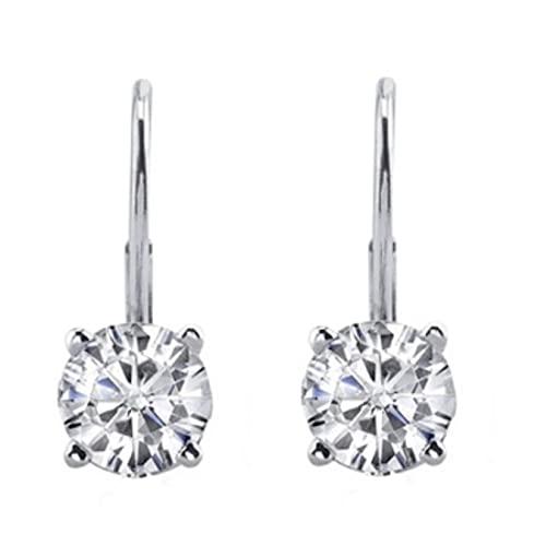 Diamond Drop Earrings: Amazon.c
