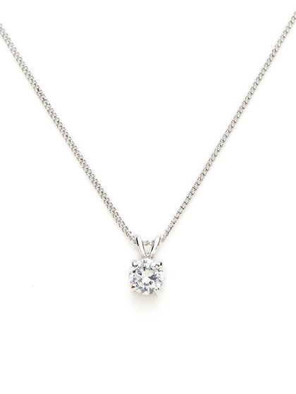 Diamond by the Yard Necklace in 2020 | Diamond necklace simple .