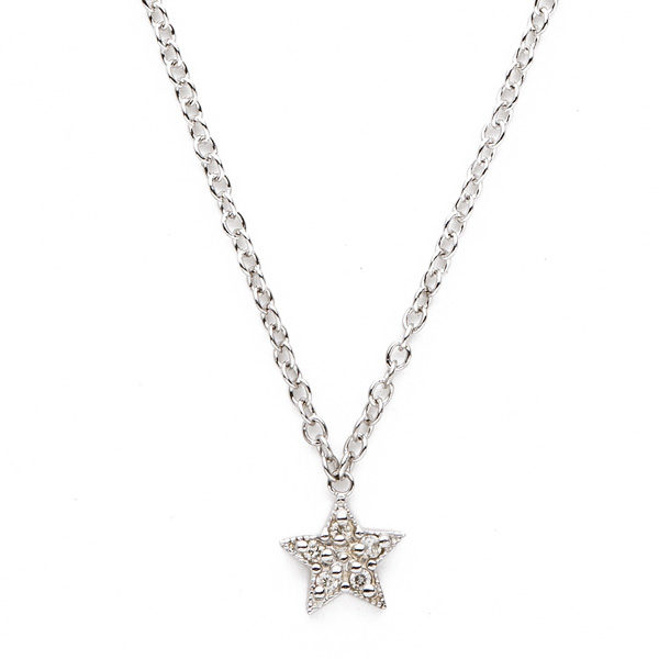 diamond star necklace - lenawa