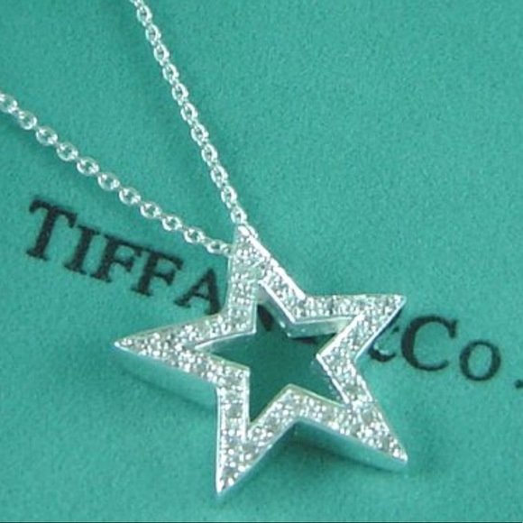 Tiffany & Co. Jewelry | Tiffany Co Diamond Star Necklace | Poshma