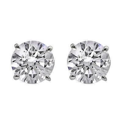 Diamond stud Earrings — Williams Diamond Cent