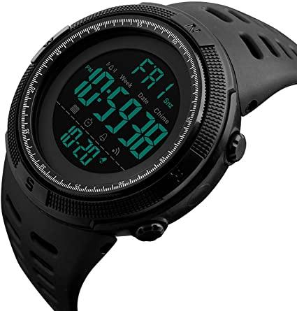Amazon.com: SKMEI Watch Men Outdoor Sports 50m Water Resistant .