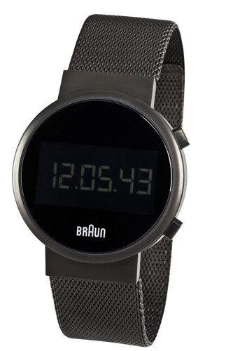 Braun Round Digital Watch | Braun watches, Mens digital watch