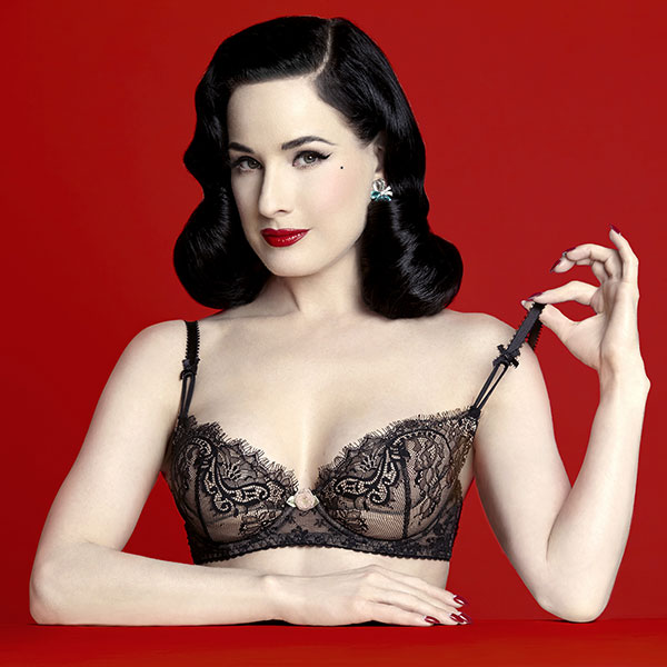 Dita Von Teese Lingerie is Back in Town - Lingerie Briefs ~ by .