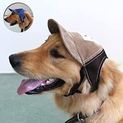 Amazon.com : MYIDEA Adjustable Cowboy Dog Hats for Large Dogs .