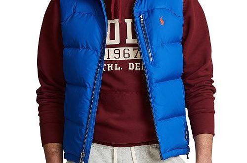 Polo Ralph Lauren Men's Mid-Weight Down Vest & Reviews - Coats .