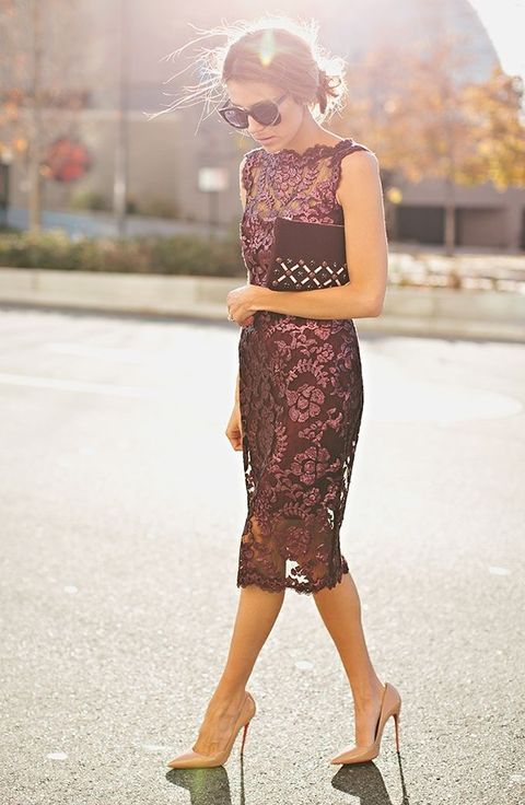 24 Chic Fall Wedding Guest Outfits For Ladies | Fall wedding .