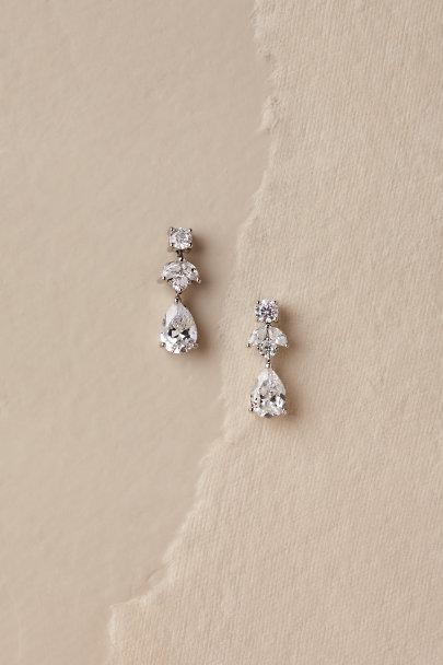 Petite Crystal Drop Earrings - BHL