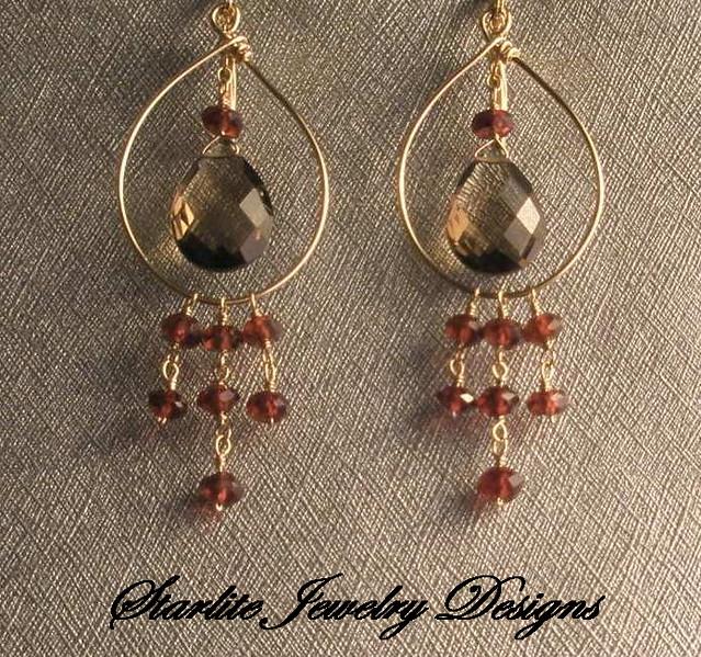 Starlite Jewelry Designs ~ Briolette Earrings ~ Handmade J… | Flic