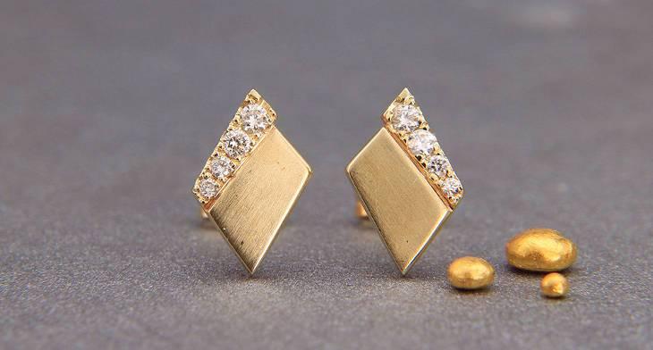 17+ Diamond Earring Designs, Ideas, Models | Design Trends .