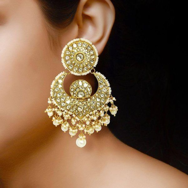 Earring Designs In Gold For Marriage For Brides With Inspiration .