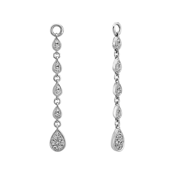 Vintage Dangle Diamond Earring Jackets | Shane C