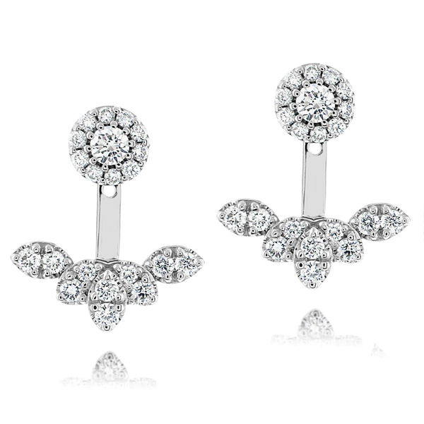 Diamond Earring Jacket Set | Reis-Nichols Jewele