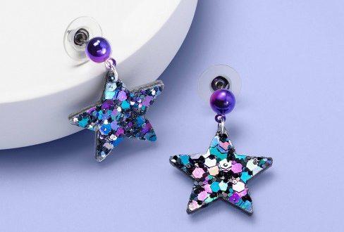 Girls' Sequin Star Earrings - More Than Magic™ : Targ