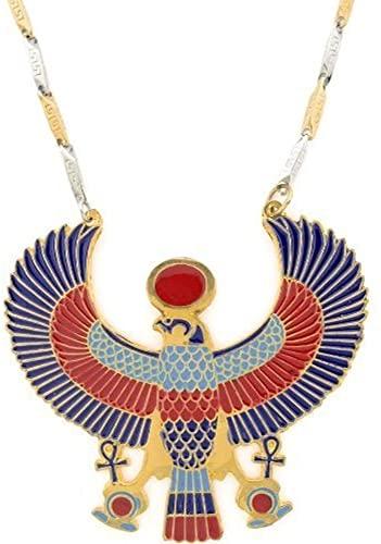 Amazon.com: KemetArt Egyptian Jewelry Horus Pendant with Chain .