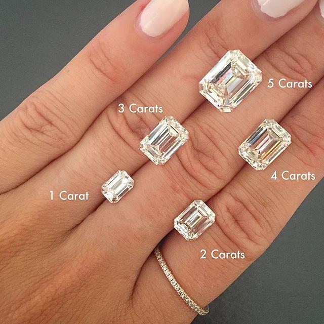 Emerald Cut … | Wedding rings emerald cut, Emerald engagement ring .