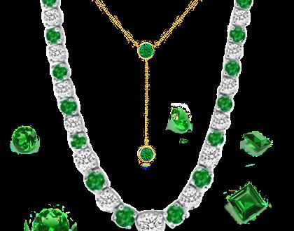 Buy Emerald Necklaces onli
