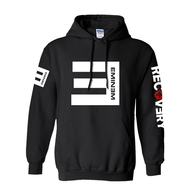Eminem hoodie NO LOVE Hip hop style Fashion Cotton Sweatshirt .