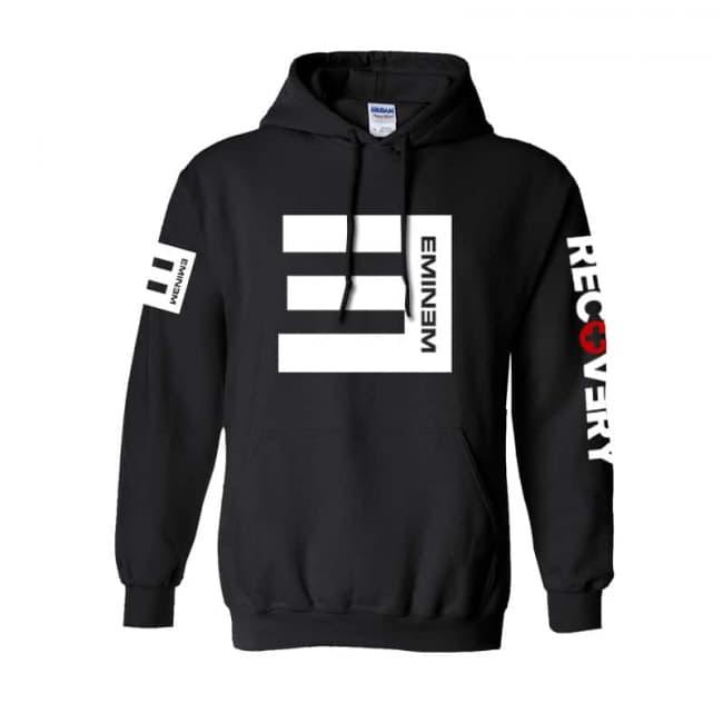 Eminem Hoodie Hooded Sweatshirt Recovery   Toy Game Wor