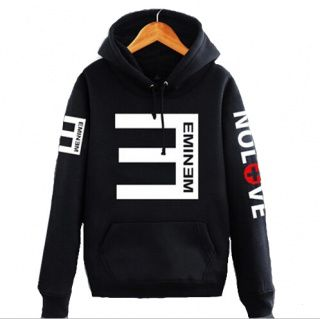 Eminem no love hoodie for men XXXL Recovery pullover hoodies .
