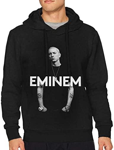Amazon.com: Tangzhikai Man Eminem Fashion Music Band Long Sleeves .