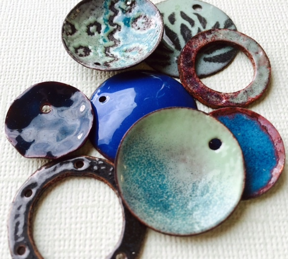 Torch Fired Enamels - Rings and ThingsRings and Thin