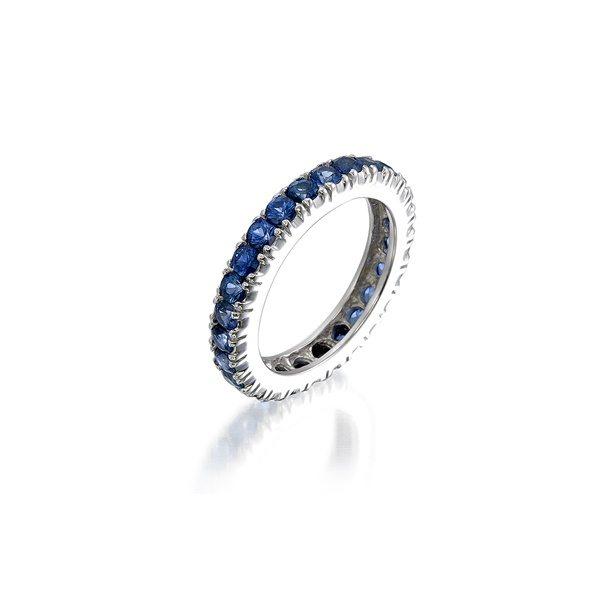 Blue Sapphire Eternity Ri