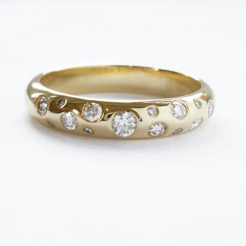 Contemporary Eternity Rings | Eternity ring, Vintage engagement .