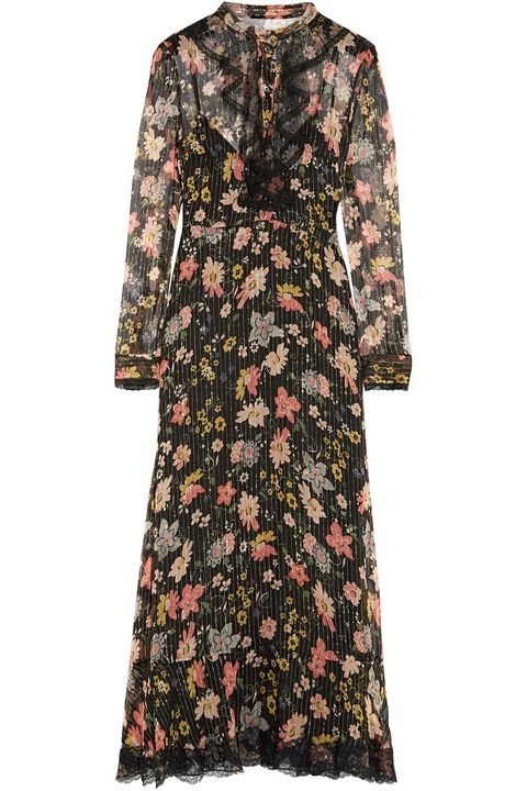 20 Cute Fall Floral Dresses - Best Floral Fashion for Fa