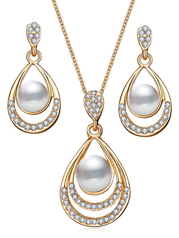 Gender: For Women Jewelry Sets Type: Collarlace / Earrings Metal .