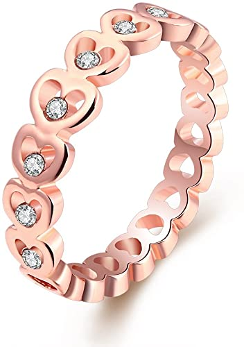 Amazon.com: LuckyWeng Women's New Exquisite Fashion Jewelry Rose .