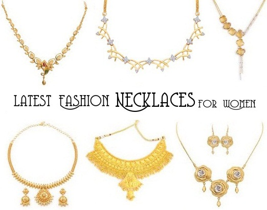 25 Simple and Latest Fashion Necklaces for Womens | Styles At Li