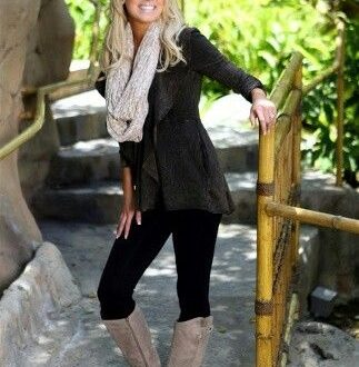 Cute outfit and fergie boots! ANOTHER reason why I NEED those .