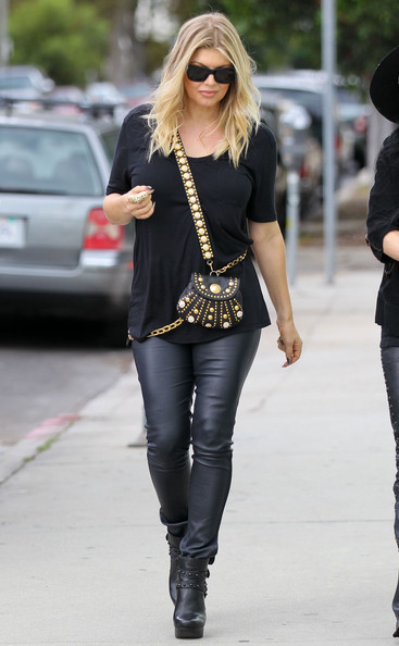 Fergie Ankle Boots - Fergie Boots Looks - StyleBist