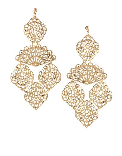 ASOS Filigree Earrings | AS