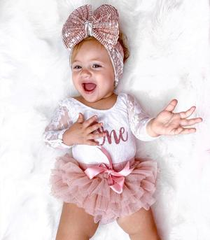 Baby Girl First Birthday Outfits – 1st Birthday Outifits – Ruffles .