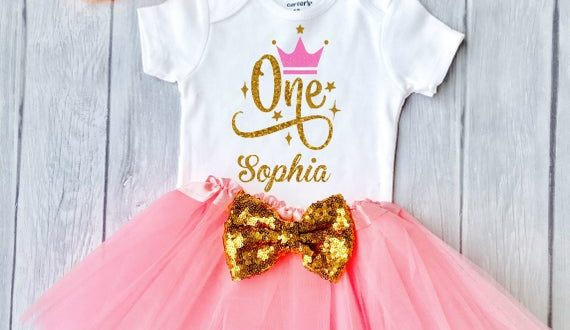 Baby Girl 1st birthday outfit First Birthday Girl Outfit 1st | Et