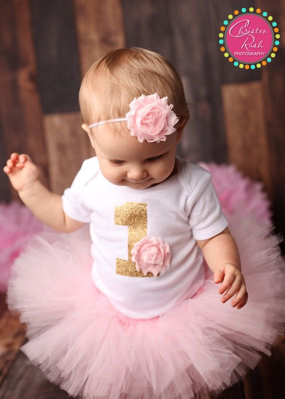 First Birthday Outfit Girl, Girl 1st Bday Outfit, First Bday Tutu .