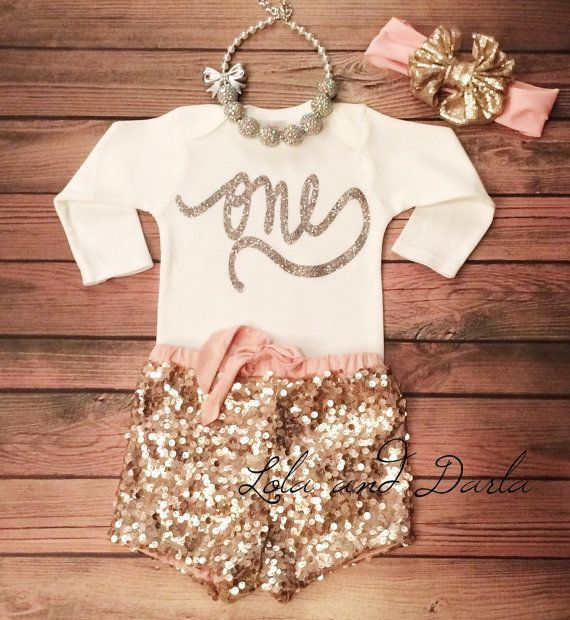 17 Cute 1st Birthday Outfits for Baby Girl All Seasons | Girl .
