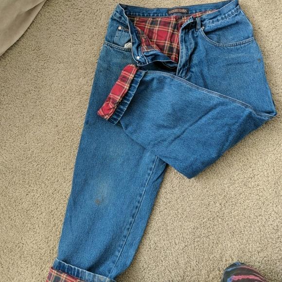moose Creek Jeans   Flannel Lined 34x30   Poshma