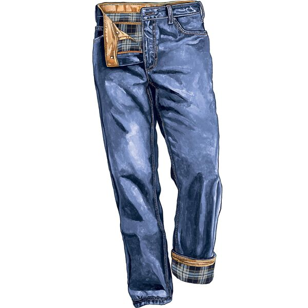 Men's Ballroom Flannel-Lined Relaxed Fit Jeans | Duluth Trading .