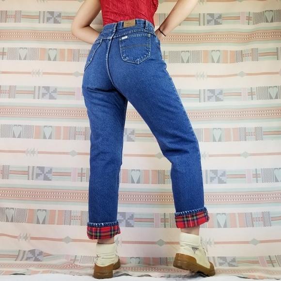 L.L. Bean Jeans | Rare Vintage Ll Bean Flannel Lined | Poshma
