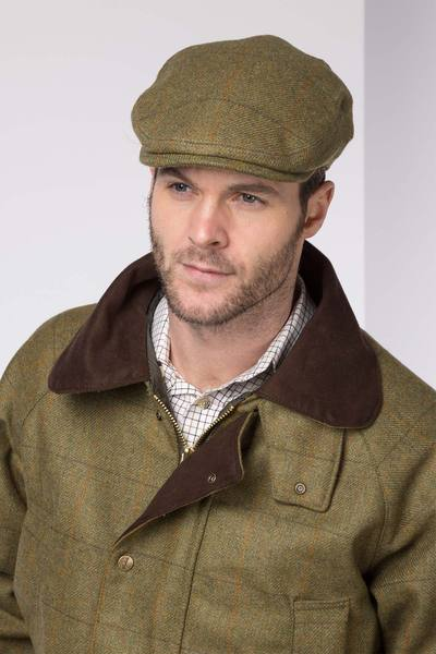 Mens Derby Tweed Flat Cap UK | Rydale Clothi