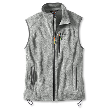 Sweater Fleece Vest - Orv
