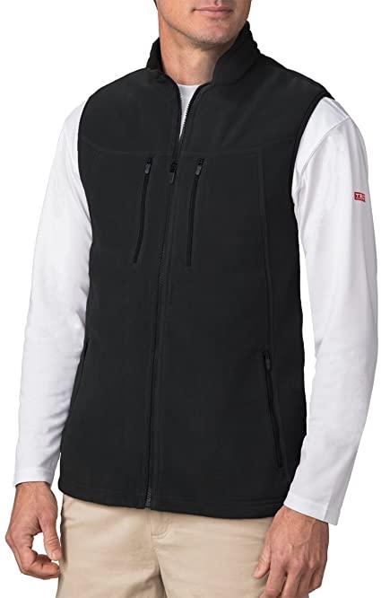 SCOTTeVEST Fireside Fleece Vests for Men - 15 Pockets - Warm .