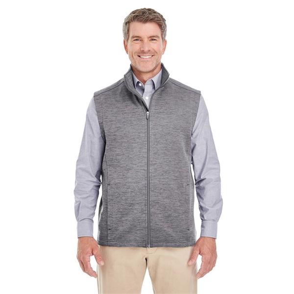 Devon & Jones® Men's Newbury Melange Fleece Vest | Victor .