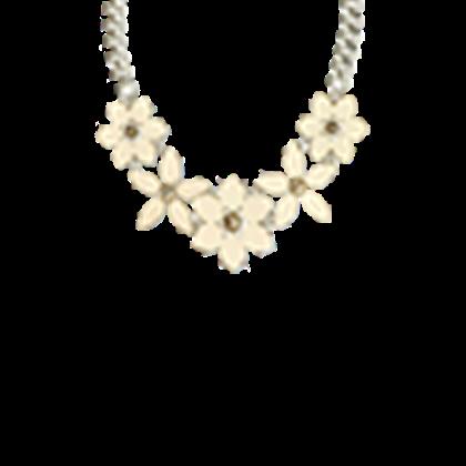 Big Gold Flower Necklace - Robl