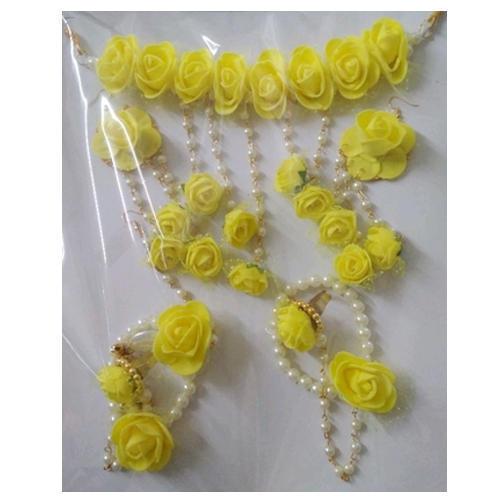Yellow Flower Necklace Set - The Best Undercut Ponyta