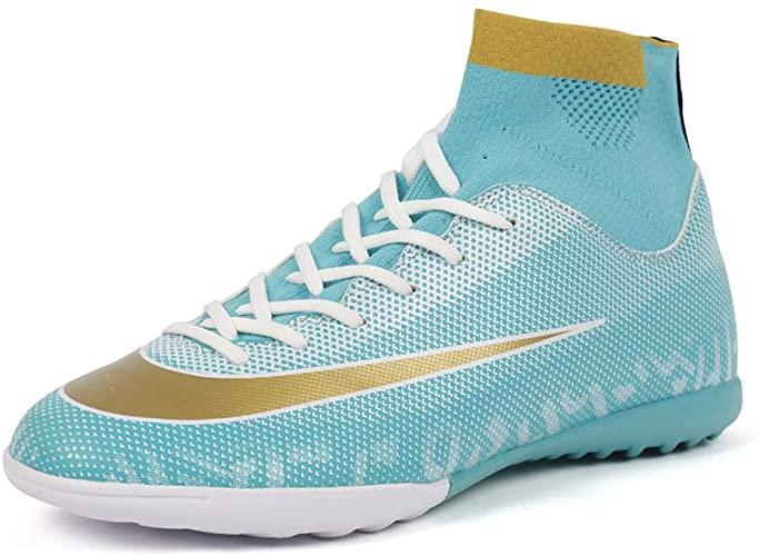 Amazon.com | Zhenzu CR Soccer Shoes Women - TF Turf Indoor Boys .