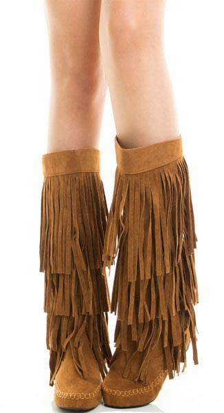 savannah fringe boots – livluvsh